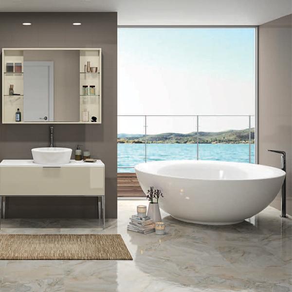 Bồn tắm âm nhập khẩu AXENT ITALICA