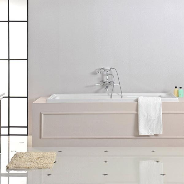Thiết kế bồn tắm âm nhập khẩu đơn giản mà thời thượng